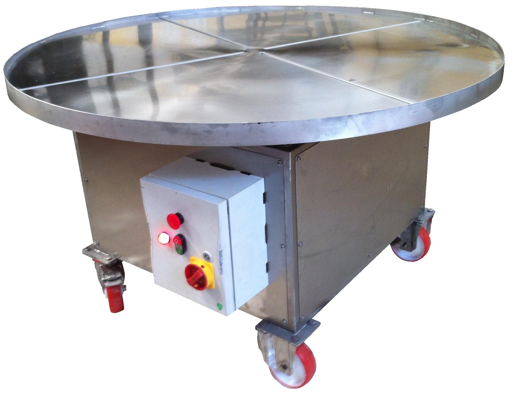 Tavola rotante tes macchine alimentari - Meccanismo rotante per tavolo ...